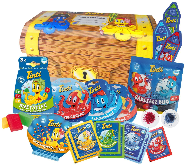 18 produits pour le bain thème chasse au trésor