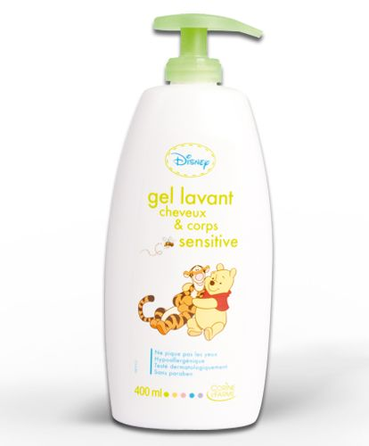 Gel lavant Bébé corps et cheveux sensitive Winnie