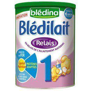 Lait Blédilait RELAIS 1er âge 900 g