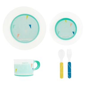 Coffret vaisselle anti-dérapante