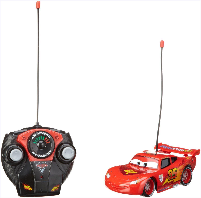 Voiture radiocommandée Flash McQueen Cars