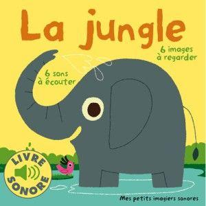 Livre sonore La Jungle
