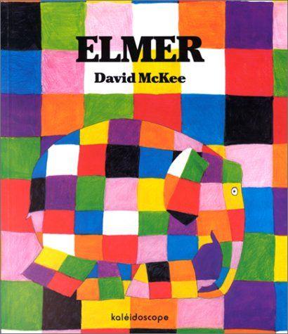 Livre Elmer KALEIDOSCOPE