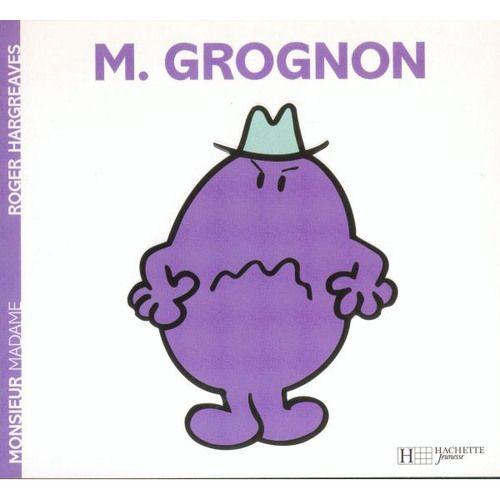 Livre Monsieur Grognon