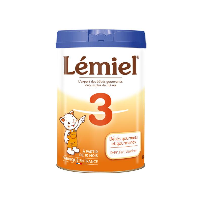 Lait Milumel Lémiel 3 Croissance