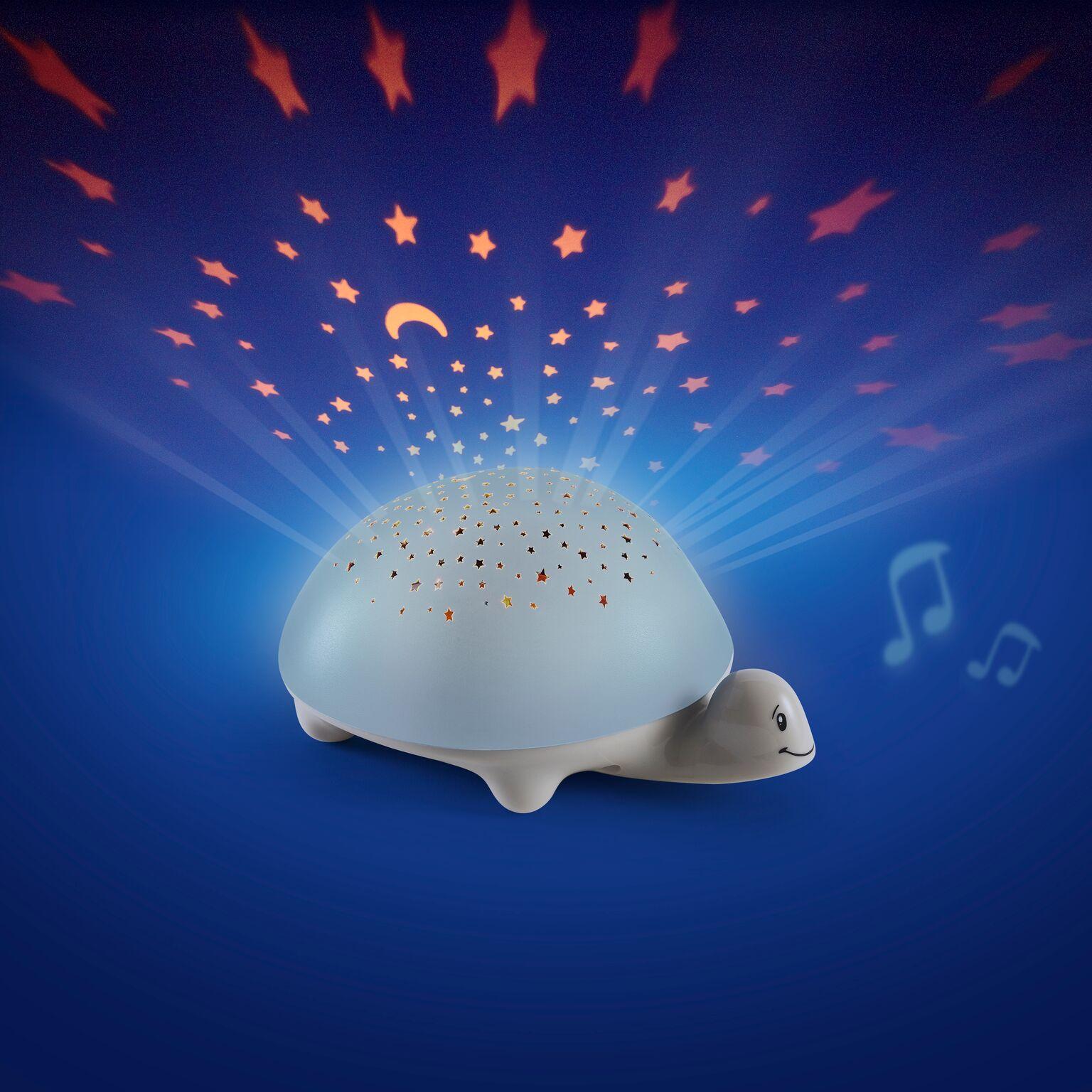 Projecteur d'étoiles musical Tortue PABOBO