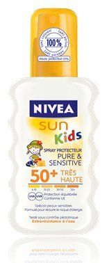 Spray solaire FPS 50+ Sun Kids Pure & Sensitive