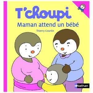 Livre Maman attend un bébé T'choupi