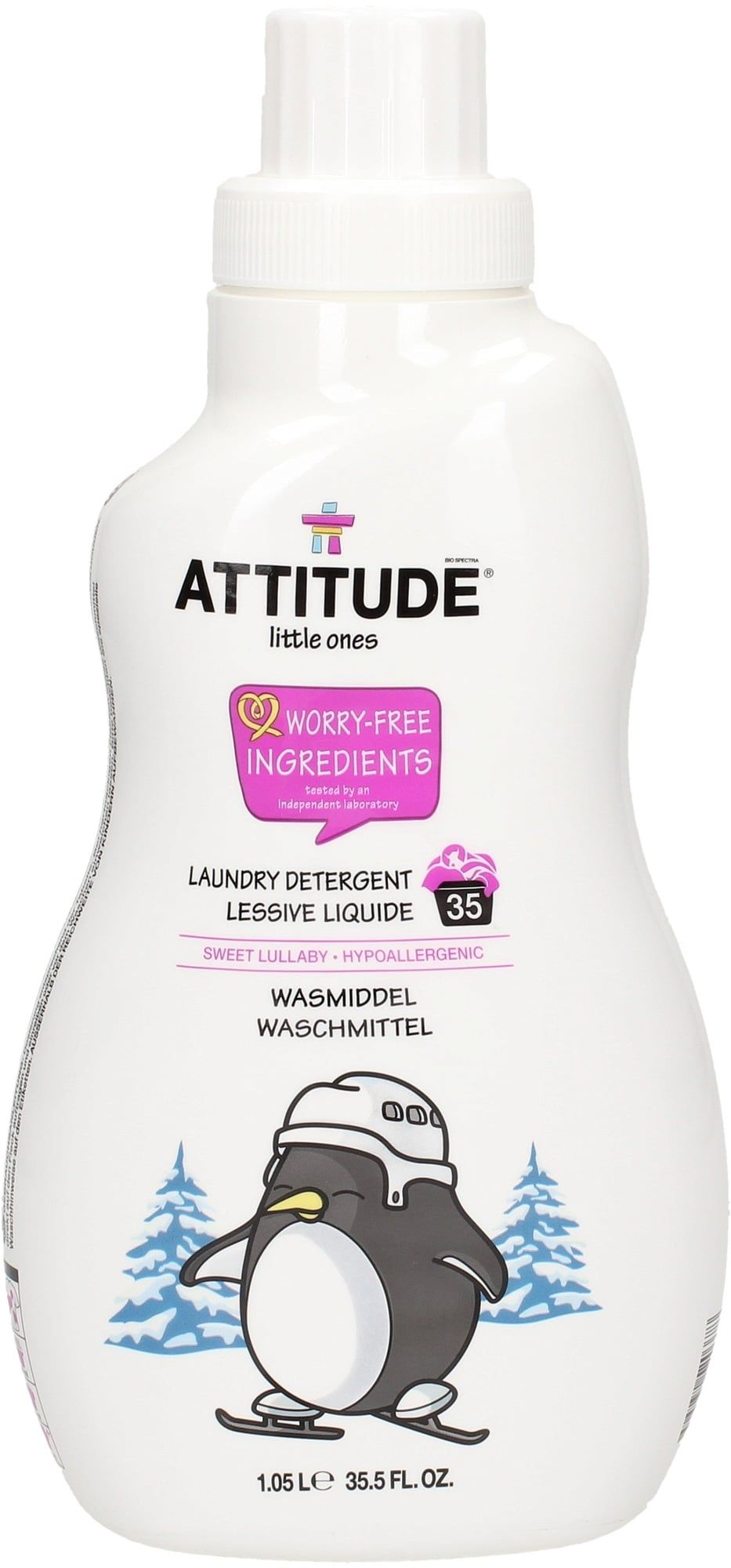 Lessive liquide Sweet Lullaby ATTITUDE
