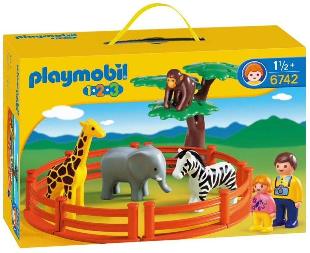 Playmobil 1.2.3 - Zoo PLAYMOBIL