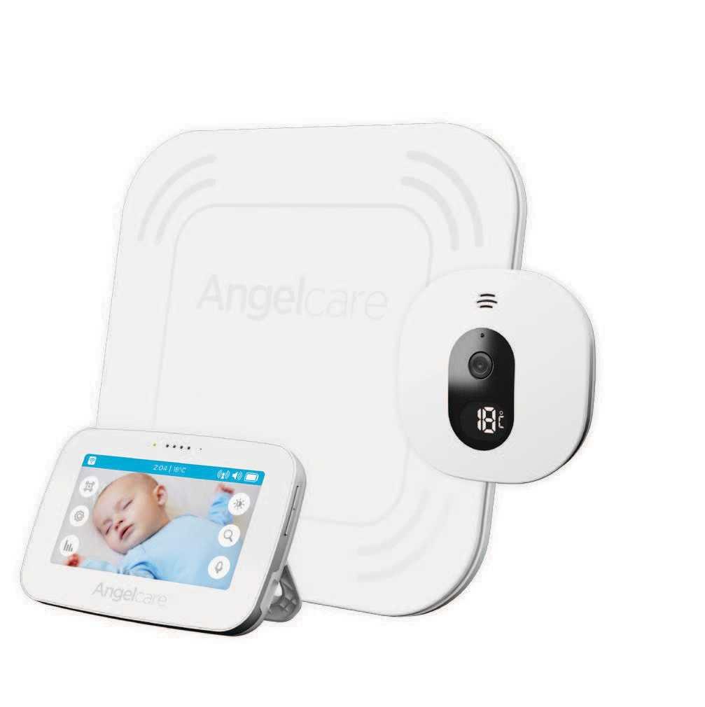 Ecoute-bébé vidéo sons et mouvements AC 417 ANGELCARE