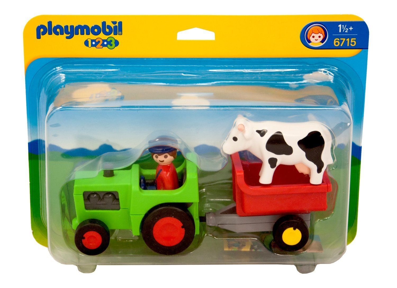 Playmobil 1.2.3 - Fermier et tracteur