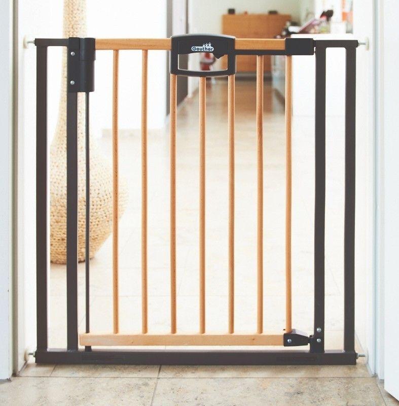 Barrière de sécurité Easylock Wood bois métal GEUTHER
