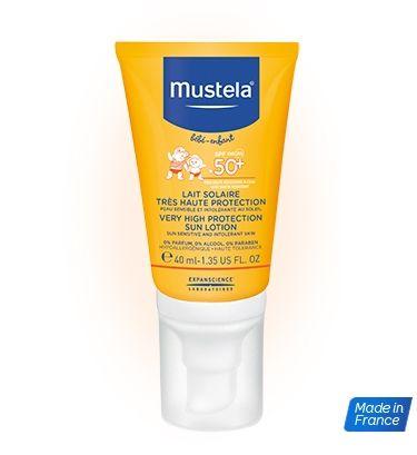 Lait solaire très haute protection spécial visage MUSTELA