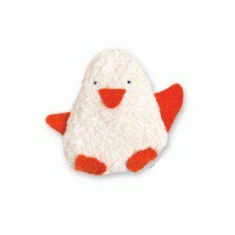 Doudou bébé Pingouin coton Bio EFIE
