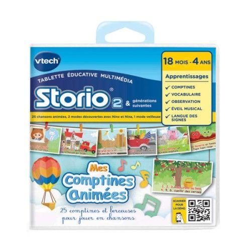 E-book animé Storio Mes comptines avec Nino et Nina VTECH