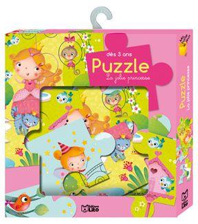 Livre puzzle Jolie Princesse