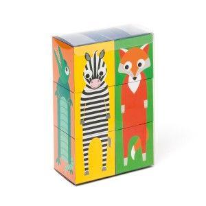6 Cubes animaux OXYBUL