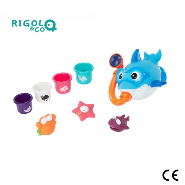 Coffret de jouet de bain Rigolo & Co