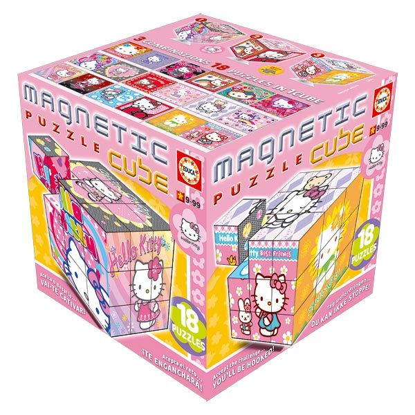 27 cubes Hello Kitty