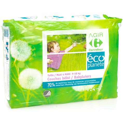 Couches Carrefour Agir Eco Planète