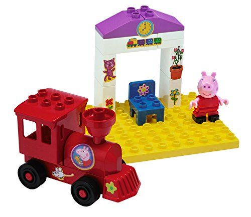 La station de train de Peppa Pig