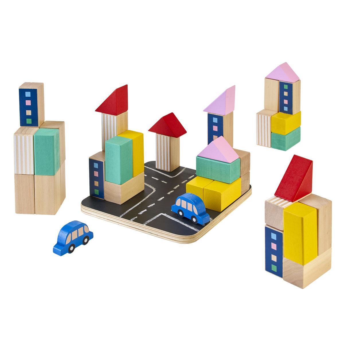 Blocs de construction ville Manibul