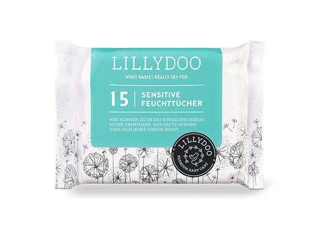 Lingettes peaux sensibles LILLYDOO